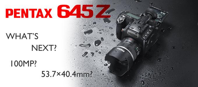 645X?PENTAX 645Z後継機には1億画素フルサイズ級CMOSが搭載されるかも?という噂