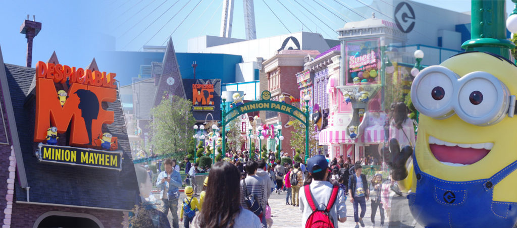 速攻レビュー!USJの「ミニオンパーク」はハチャメチャな雰囲気充分!大人から子供まで楽しめる楽しい空間だった!