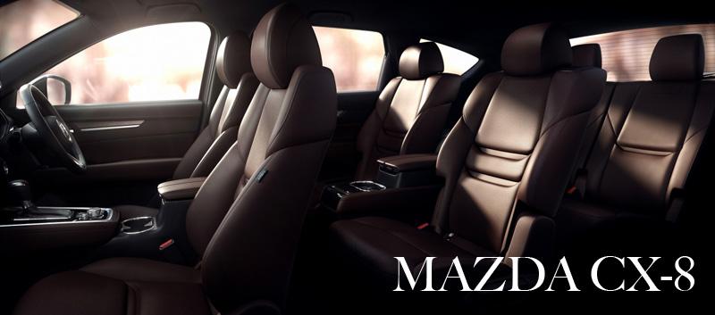 【MAZDA】3列シートの新型クロスオーバー「CX-8」を年内発売へ!