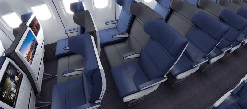 この手があったか!飛行機の「真ん中席」が一番人気になるかも知れない画期的なアイデア!