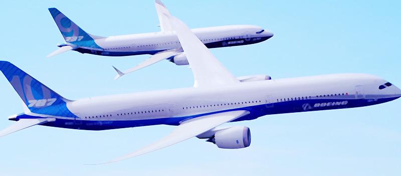 「パリ航空ショー2017」にてボーイングの「797」についてチラ見せがあったとか、なかったとか