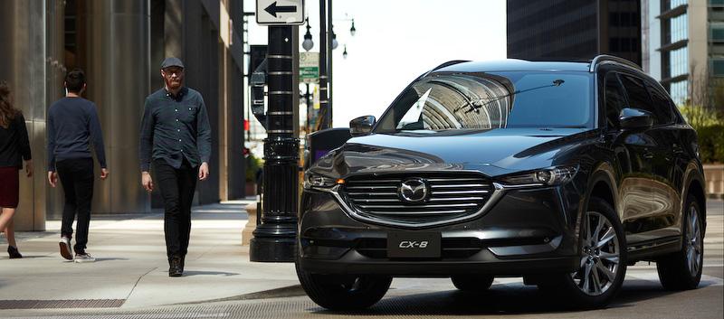 【MAZDA】新型SUV「CX-8」正式発表:ミニバンを置き換える最上位クラス3列シートモデル!
