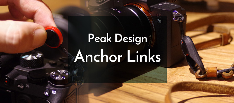 Peak Designの「アンカーリンクス」は超神アイテムだった!愛用の革ストラップが死ぬほどカッコよく付けられた!!