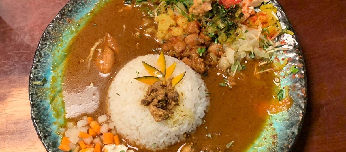 【カレーLOG】食べログスコア大阪内ダントツ1位の、「ボタニカリー」【大阪中央区本町】
